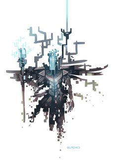 Glitched- Viktor (Skin)