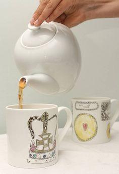 'royal tea' mug by death by tea | notonthehighstreet.com