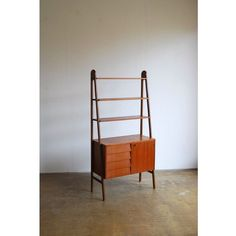 Stand-alone teak shelving system. New in. Head to http://ift.tt/1Gyo6VI to view. by the.peanut.vendor