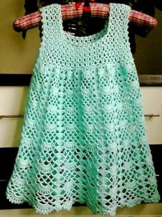 Crochet For Children: Beautiful Lacy Dress - Free pattern