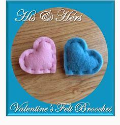 http://keepingitrreal.blogspot.pt/2015/02/his-hers-felt-heart-brooches.html