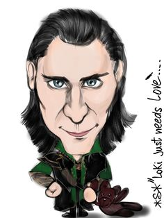 Loki caricature!