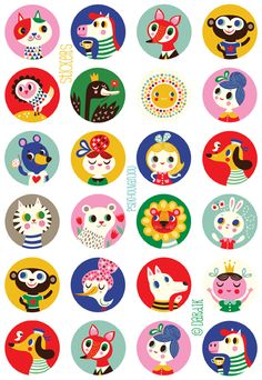 ©Helen Dardik orange you lucky!: you need these cool stickers ! . . .