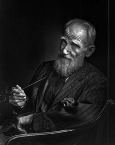 George Bernard Shaw, Photo by Yousuf Karsh, 1943