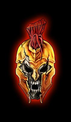 Zombie Spartan Helmet