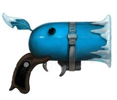 The Plants vs. Zombies Pistols Boast Serious Style and Aim