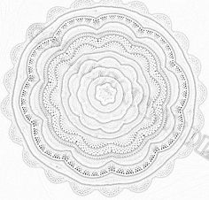 Tides of Change Afghan Coloring Page