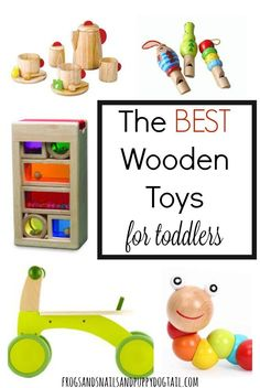 the best wooden toys for toddlers. gift guide for kids. Christmas ideas.
