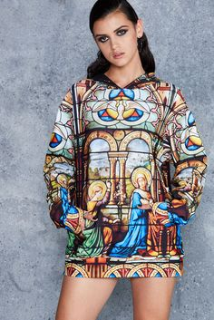 Cathedral Hoodie - CAPPED PRESALE ($130AUD) by BlackMilk Clothing