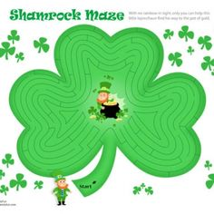 shamrock maze