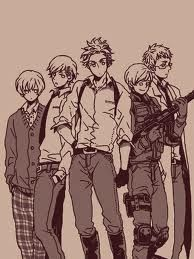 Aww... Look at Finny with his gun! Aww! So cute!