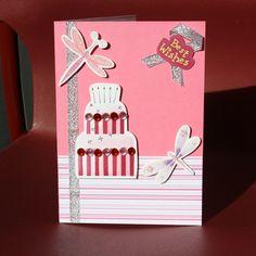 "homemade birthday cards for girl   Folksy :: Buy ""Handmade birthday card""   Craft Juice"