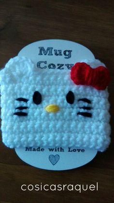 Hello kitty mug cozy