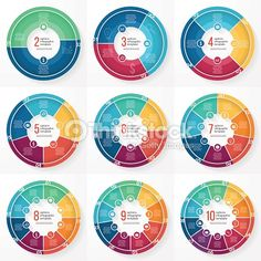 Vector circle puzzle infographic template for cycle diagram graph vector business pie chart templates for graphs charts diagrams business circle infographic concept ccuart Image collections