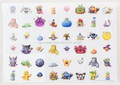 Dragon Quest Theatrhythm Plastic Poster 11x16 inch JAPAN GAME WARRIOR 1
