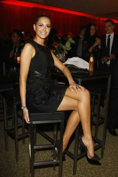 10. Mandy Capristo: girlfriend of Germany's Mesut Ozil – click the arrow to see more 2014 World Cup WAGs