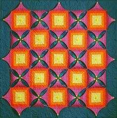 Norwegian Kameleon Quilts can be buttoned and unbuttoned to create new designs.