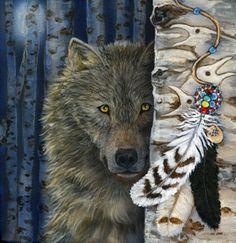 Wolf Medicine by Cathy McClelland