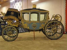 Coronation Carriage of the Shah of Iran - made in Vienna