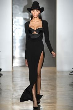 Cindy Bruna, Cushnie et Ochs | Fall 2014 Ready-to-Wear Collection | Style.com