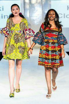 Kiki Clothing collection at Africa Fashion Week London 2012 Kiki Clothing collection at Africa Fashion Week London 2012 African American Fashion, African Inspired Fashion, African Print Fashion, Africa Fashion, African Prints, Short African Dresses, Ankara Short Gown Styles, African Fashion Dresses, Ghanaian Fashion