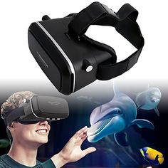 UNIHA VR 3D Virtual Reality Headset Video Glasses for 46inch Smartphone Movie Game * Read more reviews of the product by visiting the link on the image.Note:It is affiliate link to Amazon. #tagsforlikesfslc