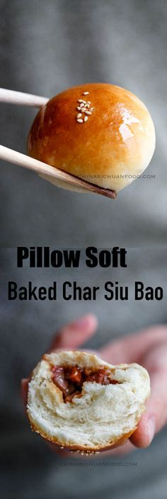 Pillow soft baked char siu bao