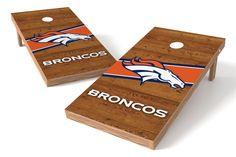 Denver Broncos Cornhole Board Set - Logo http://prolinetailgating.com/