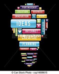 Light Bulb Art, Web Support, Business Innovation, Social Media, Stock Photos, Creative Ideas, Google Search, Wallpaper, Design