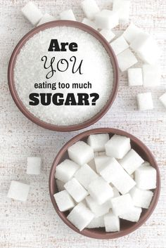 How much sugar do you eat?