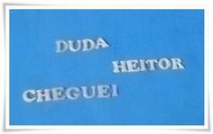 Letra em resina branca - individuais R$ 0,84