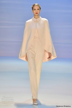 georges hobeika couture fall 2014 2015 look 15 cape pants