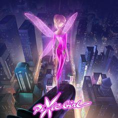 Новый мультсериал PixieGirl (Pixie Girl) - YouLoveIt.ru