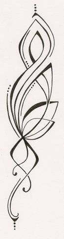 Abstract Wings Tattoo Design by ginabeauvais on Etsy, $14.00