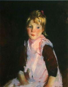 Robert Henri. American Ashcan School Painter, (1865-1929)