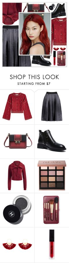 """Are you ready for the Party?) ♥"" by av-anul ❤ liked on Polyvore featuring Jonathan Simkhai, Bobbi Brown Cosmetics and Natasha"