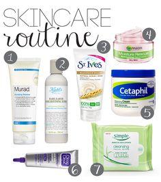 Current Skincare Routine - Annie N Belle