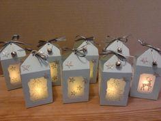 die kleine Kartenwerkstatt: kleine LED Teelichter