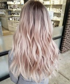 Image result for rose gold hair old lady'