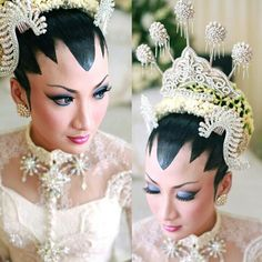 My traditional wedding make up, Paes Ageung from Java Indonesia