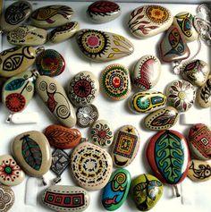 Taş boyama işleri, videoları ve fazlası için... | 10marifet.org