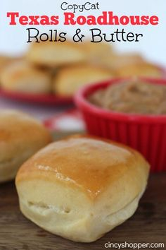 CopyCat Texas Roadhouse Rolls and Butter Recipe. These were PERFECT. My family ate the whole batch for a snack