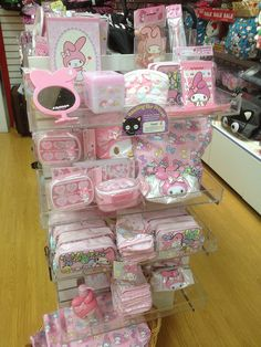 My Melody display at the Sanrio store in Grapevine Texas by Suki Melody, via Flickr