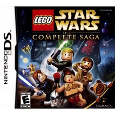 **I bought this for Ethan** LEGO Star Wars: The Complete Saga (Nintendo DS)
