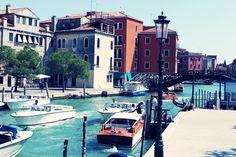 Sending postcards from Venice