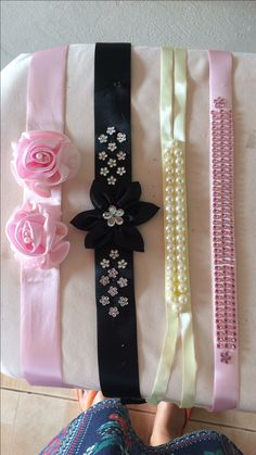 Bun Wrap, Diy And Crafts, Arts And Crafts, Baby Girl Accessories, Handmade Headbands, Cute Bows, Home Decor Styles, Pet Shop, Hair Band