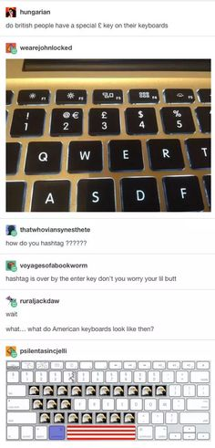 America and Britain have some animosity that's often very hilarious to see. Especially on Tumblr. See, since it's so diverse, and they're all connected through fandoms such as Supernatural, Doctor Who, Sherlock, Hannibal, etc, no one really knows where anyone is from. So when it comes out that one of …