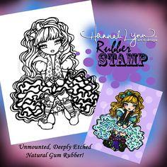 UM Rubber Alice In Wonderland Fantasy Art Hannah by hannahlynnart, 7.99