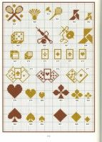 card and game motifs Cross Stitch For Kids, Cross Stitch Boards, Crochet Cross, Crochet Chart, Blackwork Embroidery, Cross Stitch Embroidery, Embroidery Books, Cross Stitch Designs, Cross Stitch Patterns
