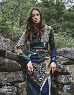 bohemiandiesel.co... knitted boho fashion editorial